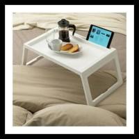 Ikea Klipsk Baki / Meja Lipat Tempat Tidur Aneka Warna Obral
