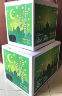 HOT SALE Kardus Motif Nuansa Lebaran Parcel Paket Idul Fitri Ukuran
