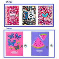 READY Notebook Smiggle Neon A5 Lockable See Neon / Diary Journal