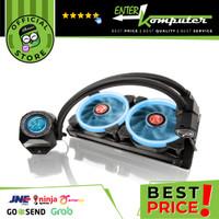 Raijintek ORCUS 240 - Best Perfomance AIO Liquid Cooling - 240mm Radiator - RGB Lighting - 2x RGB Fan 3800 RPM