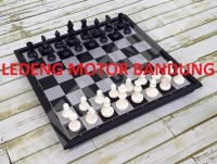 PERMAINAN CATUR CHESS BOARD GAME MAGNET MAGNETIC