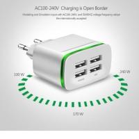 ORIGINAL USB CHARGER ADAPTOR 4 PORT KEPALA CARGER CASAN