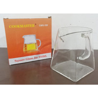 SQUARE COFFEE JAR COOKMASTER 350 ML
