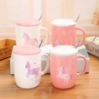 Gelas Unicorn Keramik Coffee Tea