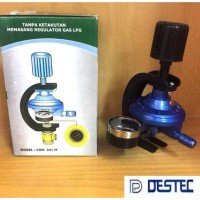 COM 201-M Regulator Gas 201 M Tekanan Rendah Meter DESTEC 201M