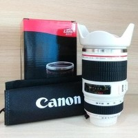CANON Lens Mug Zoom EF-S 28-135mm ESF Termos B292 Kembang Gelas Camera
