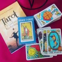 Rider tarot + kartu dan penafsiran