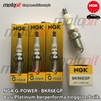 NGK G Power Platinum BKR6EGP Busi Mobil Avanza Brio APV Swift SX4