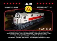 GRATIS ONGKIR Miniatur Lokomotif Kereta Api LK-10 CC2018/ Diecast CUCI