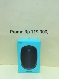 Logitech M165 Wireless Mouse / M 165 ORIGINAL GARANSI RESMI Limited