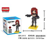 BLACK WIDOW - HSANHE 8113 Lego Nano Block/Mini Bricks/Micro Block