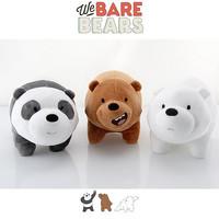 Miniso Boneka We bare bears 35cm ORIGINAL EMPUK BANGET