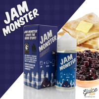 JAM MONSTER Blueberry 100ml / 6mg - USA Liquid - VERY RECOMMENDED