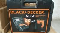 Paket Black Decker Bor Beton Bor Listrik Asesoris Lengkap 13 Mm