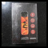 Mumpung Murah Smok Nord Starter Kit Pod Salt Nic Mod Vape - Green Red