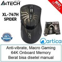 A4Tech X7 XL-747H Spider Macro Gaming Mouse Murah