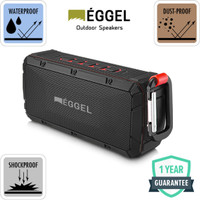 Eggel Terra Waterproof Outdoor Portable Bluetooth Speaker