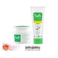 Paket 2in1 Safi White Natural Anti Acne TTO Cleanser & Anti Acne Cream