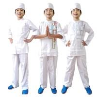 Baju Koko Anak Putih Fayrany FKP-011 Size 6 - 15 Tahun