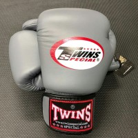 Sarung Tinju Twins Glove Grey 8 Oz