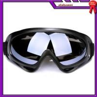 AL503 Kacamata Goggles Ski Tactical Sepeda Motor Pelindung Mata Lensa