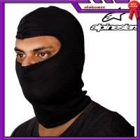 AL464 Balaclava Alpinestar Black Masker Full Face Pelindung Muka Helm