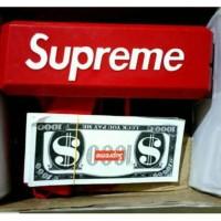 Mainan pistol uang SUPREME SUPER GUN CASH TOY untuk acara pesta