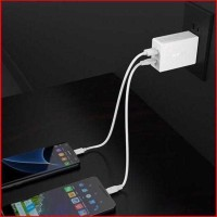 Aukey Charger USB 2 in 1 USB Type C Quick Charge 3.0 - PA-Y2 - Putih