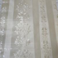 wallpaper dinding uk 45cm x 10m - batik cream gold glossy