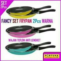 Fancy Frypan Set Warna Teflon Wajan Anti Lengket Teplon Fry Pan