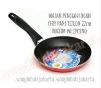 ANTI LENGKET FRYPAN DAPUR MASAK WAJAN PENGGORENGAN (FRY PAN) TEFLON