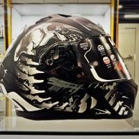AIROH VALOR SHELL MATT | HELM MOTOR BIKERS | ARAI AGV KYT NOLAN HJC
