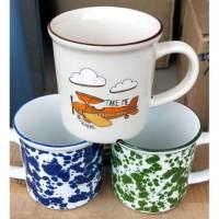 Gelas/Cangkir Karakter Unik Keramik