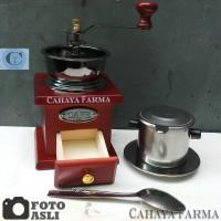 Paket Alat Kopi - Classic Coffee Grinder - Vietnam Drip - Original -