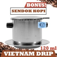 Vietnam Drip - Original - 120 ml - Penyaring Kopi - Coffee Maker -