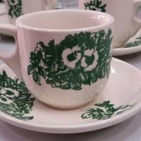 Cangkir Kopitiam/Gelas Kopitiam / Cangkir Kopi/Cangkir Keramik/Keramik