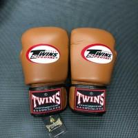 Sarung Tinju Twins Glove Brown 8 Oz