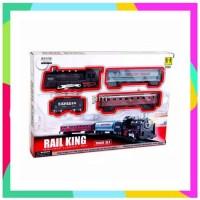 AJ Rail King Classical Train Mainan Set Gerbong Kereta Api 19051-4