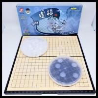 Termurah Mainan Catur Go / Weiqi / Baduk Set Magnet 19 X 19 Stok