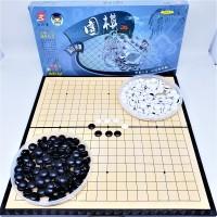 Mainan Catur GO Weiqi Baduk Set Magnet 19 X 19