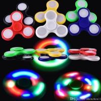 Fidget Spinner LED / Hand Spinner LED / Spinner Lampu LED