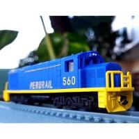 Kereta api miniatur jual murah lokomotif model perurail train classic