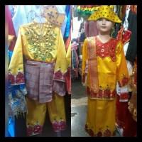 Pakaian Baju Adat Anak Gorontalo Size S - M Lk/Pr Stok Terbatas