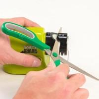 New Swifty Sharp /Alat Pengasah Pisau Elektrik Otomatis/ Asah Pisau