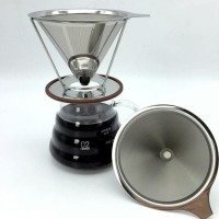 New V60 Dripper Coffee Dripper with holder Pour Over