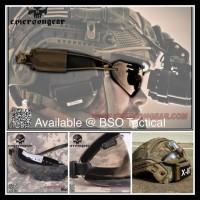 Diskkon Gila Airsoft Tactical Helmet Goggle Emerson Combat Boogie