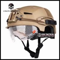 Diskon Helm Tactical Emerson Gear Efx Bump With Google Airsoft Helmet