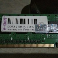 ram v gen DDR3 2 GB PC 10600 normal