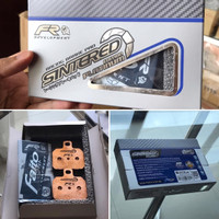 Kampas Rem Brembo 1 Pin Faito Sintered Platinum Edition
