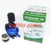 Regulator Gas LPG DESTEC COM Model COM 201 M AMAN DAN MUDAH ANTI BOCOR